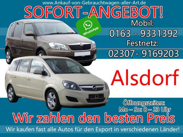 Kaufe jedes Auto Alsdorf | Ankauf von Autos Alsdorf Fairen