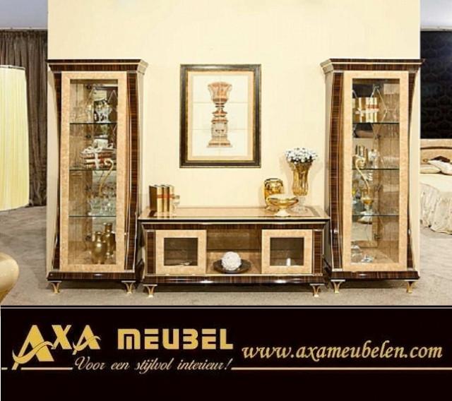 Klassische Italienische Hochglanz Wohnzimmer AXA Möbeln ...